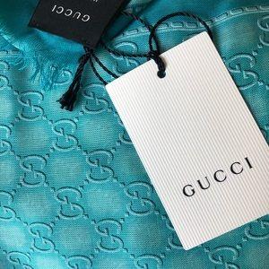 NWT Gucci Scarf Silky Modal
